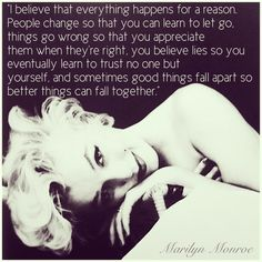 My favourite Marilyn quote ❤