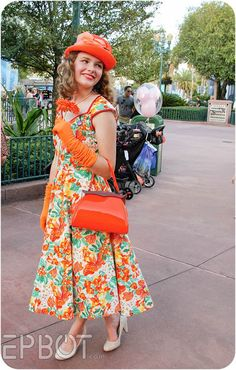 EPBOT: WDW's Fall Dapper Day, 2015