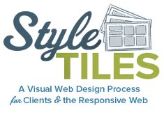 Style Tiles - a visual web design process for clients + the responsive web Web Design Tools, Ux Design, Design Process, Tool Design, Design Elements, Design System, Responsive Web Design, Responsive Site, Layout