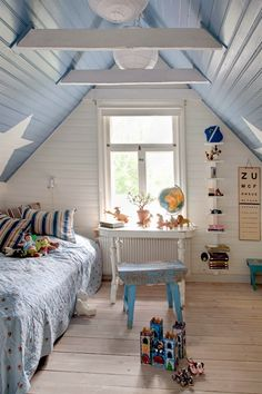 kids room + blue 유