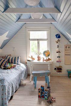 kids room + blue