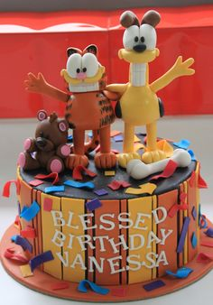 Celebrate with Cake!: Garfield and Odie Cake