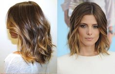 Ombre Bob Hair Styles İlham | Kısa Saç Modelleri ve Renk Fikirleri