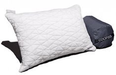Camping and Travel Pillow with Bamboo Derived Viscose Rayon Cover - Adjustable Compressible - Includes Stuff Sack Great for Backpacking, Airplane or car Travel - x - Memory Foam Travel Pillow Camping Pillows, Camping Blanket, Hotel Pillows, Toddler Pillow, Comfortable Pillows, Foam Pillows, Pillow Reviews, Best Pillow, Camping Life