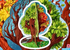 Картинки по запросу дерево счастья рисунок