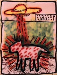 Keith Haring - Untitled(P.S. 122),1980