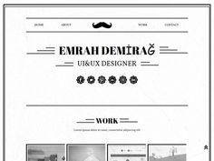 One Personal Resume Template  Website Templates