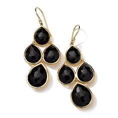 IPPOLITA - 18K Gold Lollipop 4-Stone Pear Drop Earrings - Earrings