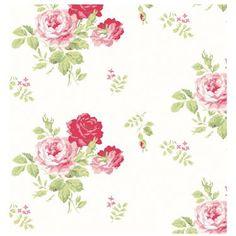 Cath Kidston - Antique Rose Wallpaper