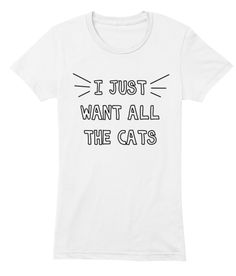 All The Cats Tee -- help save an important rescue