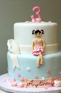 Angelina's Ballerina Tea Party by emmacakes, via Flickr