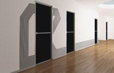Sensform® Wall stickers Geometric Family by Sensform , via Behance