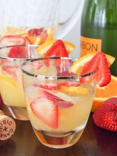 cava sangria - a wonderful, light fruity summer's cocktail