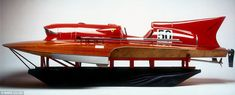 This astonishing-looking Ferrari speedboat set an unrivalled world record in 1953