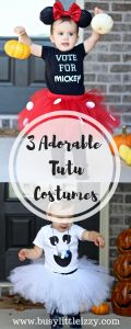 Halloween | Costumes | tutu costumes | Elmo | Minnie Mouse | Ghost | Busy Little Izzy Blog