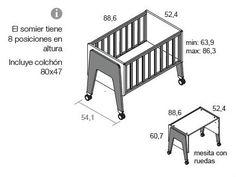 Baby Bedroom, Nursery Room, Kids Bedroom, Nursery Ideas, Baby Rocking Crib, Baby Cribs, Nursery Modern, Modern Nurseries, Girl Nurseries