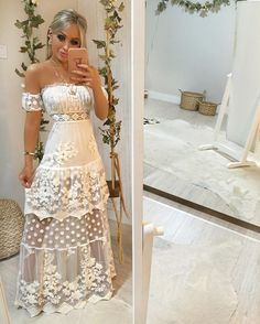 37 Amazing White Lace Outfits Ideas Modern nurseries are often clean, sophisticated places, but nothing beats the beauty and elegance of the white lace Victorian nursery. Trendy Dresses, Cute Dresses, Beautiful Dresses, Fashion Dresses, Prom Dresses, Formal Dresses, Lace Outfit, Lace Dress, Dress Up