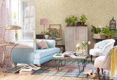 Franskt bohemiskt med vintage och nonchalanta stilkrockar - Sköna hem