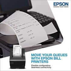Maintain your records moving with Epson's Bill printers. Connect seamlessly with various devices and receive your billing done effortlessly and quickly. Learn more: Epson, Printers, Connection, Cards Against Humanity, Learning, Studying, Teaching, Onderwijs
