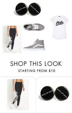 """""""O_O"""" by arantzacastr0 ❤ liked on Polyvore featuring adidas Originals and Vans"""