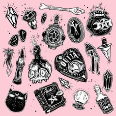 ouija board tattoo idea