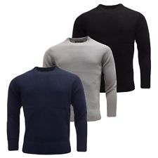Le Shark Designer Mens Jumper Crew Neck Wool Fashion Knitwear Sweater