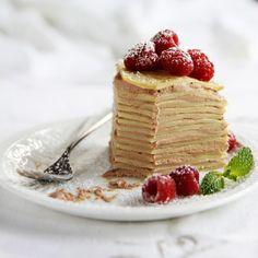 Milk Chocolate Crêpe Cake Recipe