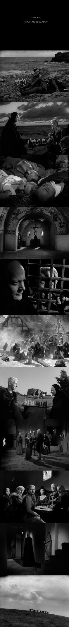 Thr Seventh Seal (1957) Directed by Ingmar Bergman.