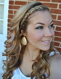 braided+hairstyles,+plaits,+braided+hair+-+wavy+hairstyle+with+braided+headband