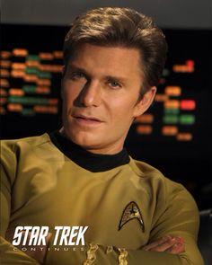 Vic Mignogna as Captain Kirk, Star Trek Continues.