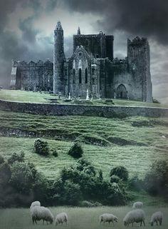 Irish Gothic Castle.