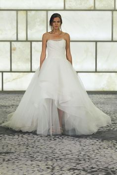 Rivini Sabina. Hand draped tulle and French lace voluminous organza ball gown. French Lace, Silk Organza