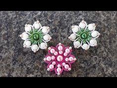 maxi flor IDEAL para usar em chinelos havaiana cortada - YouTube