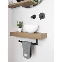 Toilet Room Decor, Small Toilet Room, Small Bathroom, Modern Room Design, Small House Interior Design, Bathroom Interior Design, Lavabo Design, Small Sink, Bathroom Plans