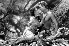 """Jane Parker (Maureen O'Sullivan): """"I'm Jane Parker. Understand? Jane, Jane."""" // Tarzan (Johnny Weissmuller): [points at Jane] """"Jane, Jane."""" // Jane Parker: """"Yes, Jane. And you?"""" -- from Tarzan, the Ape Man (1932) directed by W.S. Van Dyke"""