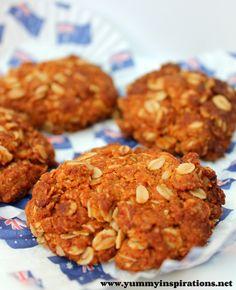 Anzac Biscuits Recipe - Yummy Inspirations