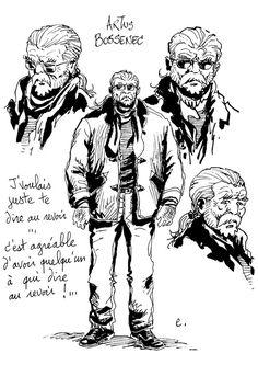 Artus Bossenec, journaliste fil rouge.