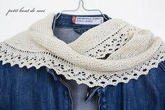 été chic scarf, free pattern by collete audrey