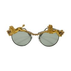 Mercura NYC Poodle Sunglasses | From a collection of rare vintage sunglasses at https://www.1stdibs.com/fashion/accessories/sunglasses/