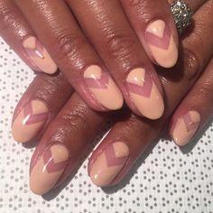 """""""This weeks $40 gel special!! @mee_yagi #Kanae #handpainted #gelSpecial #nailart #Vanityprojects"""""""