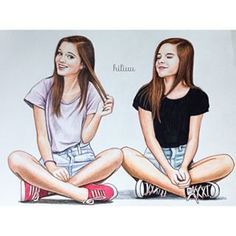 Friend: One who knows all about you and loves you just the same.☺️😚🌾… Friend: One who knows all about you and loves you just the same. Best Friend Sketches, Friends Sketch, Best Friend Drawings, Girl Drawing Sketches, Girly Drawings, Love Drawings, Beautiful Drawings, Best Friends Sister, Best Friend Goals