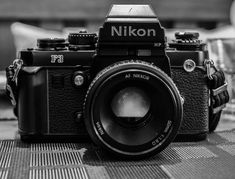 The Nikon will be an all time classic film camera definitely one for the pros. Even after the and photographers continued to praise the Nikon Camera Lenses, Nikon F3, Camera Gear, Nikon Cameras, Gopro, Photography Camera, Vintage Photography, Photography Tips, Camera Equipment
