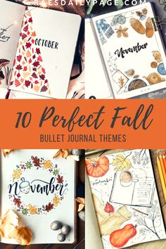 The Perfect Fall Bullet Journal Cover Pages 10 fall bullet journal themes. Perfect for November cover pages The Perfect Fall Bullet Journal Cover Pages 10 fall bullet journal themes. Perfect for November cover pages Bullet Journal Contents, Bullet Journal Cover Ideas, Bullet Journal Hacks, Bullet Journal How To Start A, Bullet Journal Spread, Bullet Journal Layout, Bullet Journal Ideas Pages, Journal Covers, Bullet Journal Inspiration