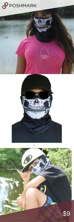 Sun Mask, faceshield , Scarf Great for Fishing, Hunting, Biking, Snowboarding, Snowmobiling, Airsoft, Hiking, etc. Wear it multiple ways: Facemask, Beanie, Headband, Neck Scarf, Balaclava Wristband & many more! Breathable, soft, thin, stretchy and no scratching Protection against all elements Accessories Scarves & Wraps