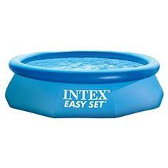 Piscina rotonda Easy Set con pompa filtro
