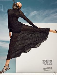 Sasha Luss by Nathaniel Goldberg for Vogue China - Proenza Schouler