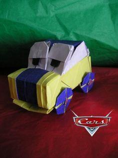 Origami Car, Beetle Hall