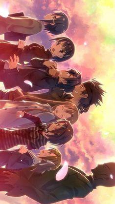 Get your favorite Sword art online characters here in Rykamall. Otaku Anime, Sao Anime, Manga Anime, Wallpaper Animes, Animes Wallpapers, Fantasy Kunst, Fantasy Art, Schwertkunst Online, Desenhos Love