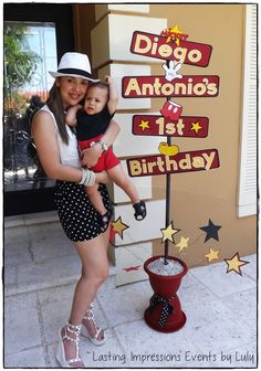 "Photo 57 of 57: Mickey Mouse / Birthday ""Diego Antonio's 1st Birthday"" 