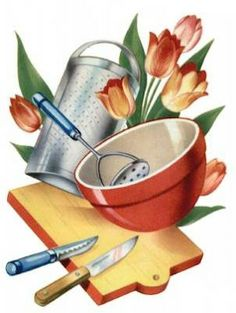 kitchen clipart/pic for recipe binder